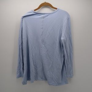 Workshop Republic Clothing Tops - Workshop Republic Clothing Hi-Lo Long Slv T-Shirt